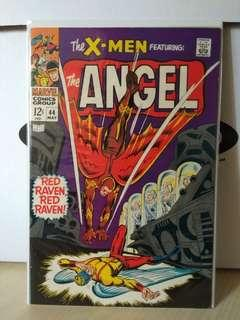 Uncanny X-Men Vol. 1 #44 - 1st appearance.of the Red Raven in Silver Age