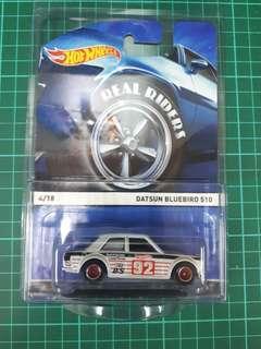Hotwheels - Real Riders Datsun 510