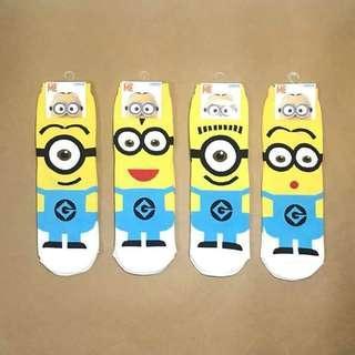 Minion Iconic Korean Socks