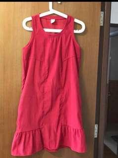 🛍 Lalu Red Dress