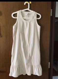 🛍 Lalu White Dress