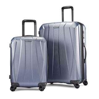 【28吋】【21吋】【拆封新品】新秀麗 Samsonite 1067775 28吋+21吋 藍/灰色 PC硬殼 旅行箱組