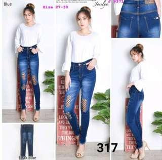 Celana Jeans Jaring