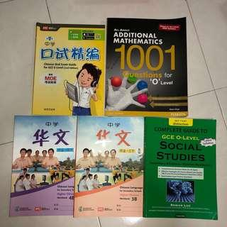 sec 3 sec 4 textbooks & workbooks