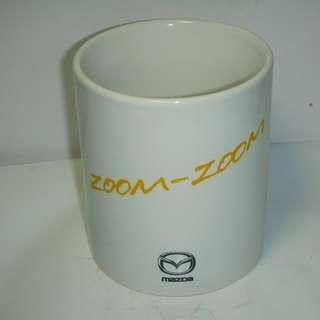 🚚 aaL皮1商旋.(經典企業馬克杯)全新MAZDA馬自達 ZOOM-ZOOM馬克杯!--值得收藏!/6房樂箱13/-P