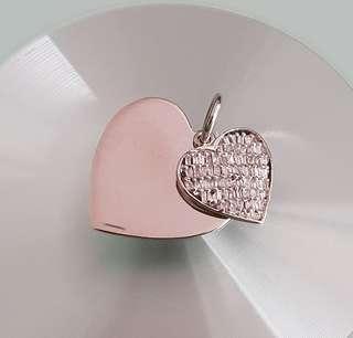0.75 cts  - 14k Diamond Pendant