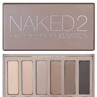 New Urban Decay Naked Palette 2