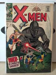 Uncanny X-Men Vol. 1 #34 - 1st and only appearance of Cobalt Robot