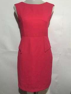 Philosophy Woman Hot Pink Dress