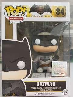 Funko POP BvS #89 Batman 100% Authentic