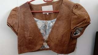 Emily Cheong leather Jacket