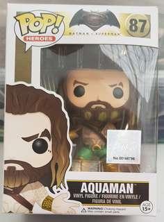 Funko POP BvS #87 Aquaman 100% Authentic