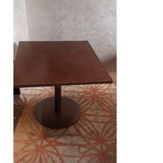 Custom made Wood Top Table