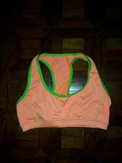 Yogo Athletica Orange Sports Bra