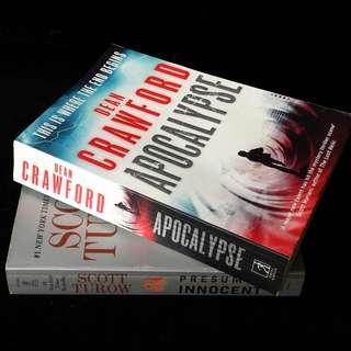 Scott Turow / Dean Crawford Novel