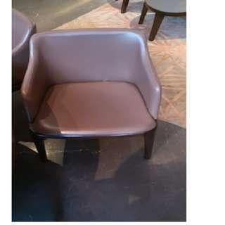 Custom made Leather Chair
