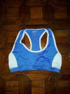 Yogo Athletica Blue Sports Bra