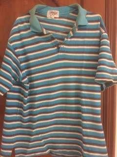 Baju polo biru