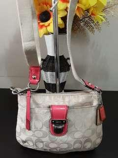 Authentic Coach sling not micharl kors lacoste kate spade