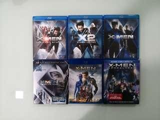 X Men Complete Series Blu Ray