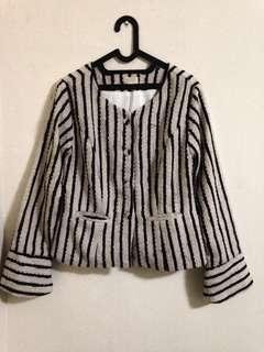 Blazer outer stripes