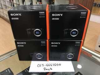 NEW SONY A6500 BODY (FREE64GB)