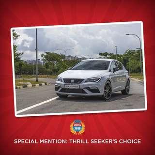 COTY 2018: SEAT Leon Cupra 290