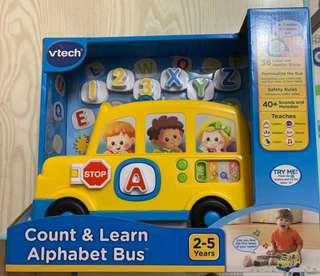 Vtech Count and Learn Alphabet 玩具車
