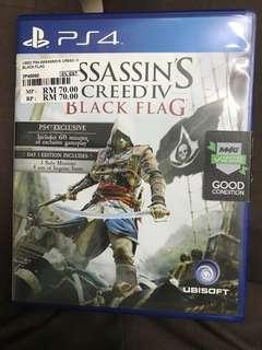 Assassin Creed Black Flag PS Game