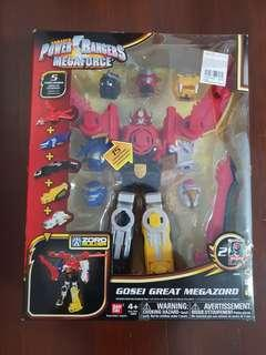 BRAND NEW COLLECTIBLE : Power Rangers Megaforce Gosei Great Megazord
