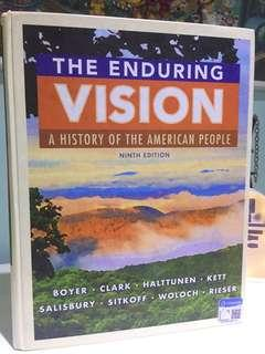 "The Enduring Version ""A History of the American People"" Ninth Edition"