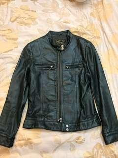 Blue Heroes Leather Jacket 皮褸