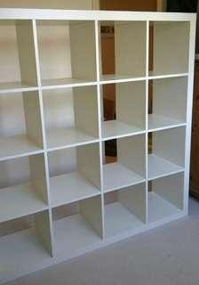 Clearance SALE : Kallax ikea shelves (High Gloss)