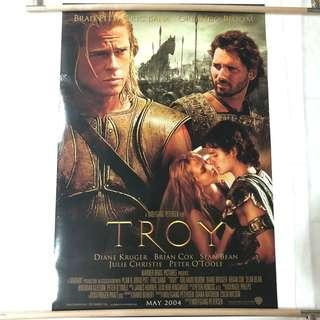 TROY original movie poster