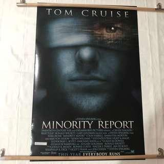 MINORITY REPORT original movie poster