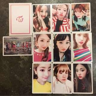WTS TWICE SIGNAL PREORDER PHOTOCARD