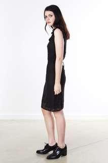 Sonia rykiel lace sleeveless dress