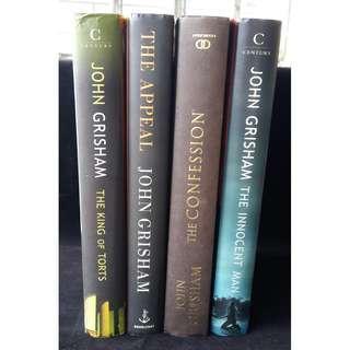 John Grisham Novel Hardcover