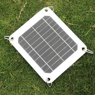 🚚 Brand New Solar Power Panel USB Charger Mono-Crystalline USB Portable Solar Charger Device 5V 5W