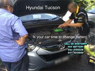 Kereta Bateri Hyundai Tucson , Amaron Hi Life 85D23L