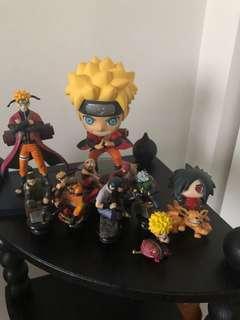 Naruto Figurines Set