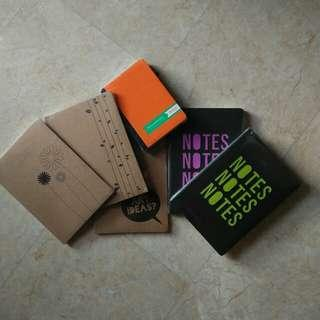 assorted notebooks ✨