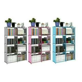 4 Tier 8 coloum Book Rack
