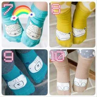 BN New Baby Newborn Girl Boy Cute Cotton Socks Sock Korean Kid Kids