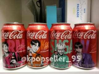 [WTS] BTS limited edition cola cans