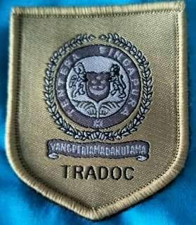 #blessing giveaway TRADOC Badge