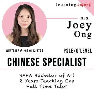Chinese primary PSLE secondary  Home tuition
