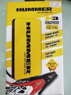 Hummer power bank jump starter H3
