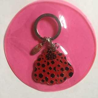 Yayoi Kusama Pumpkin 波點女王 草間彌生 南瓜婆婆 鎖匙扣- FMCA現代美術館 #掛飾#電話繩#Keychains#耳環 ear ring [聖經禮物] 村上隆 MOMA