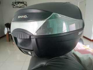 Shad box for motorcyle
